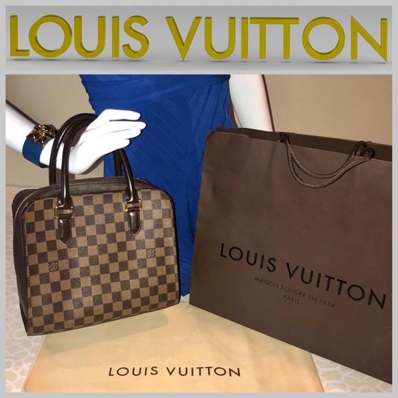 350bce544be4 Louis Vuitton Handbags - 🦋 PRICE DROP! Authentic LV Damier Ebene Bag